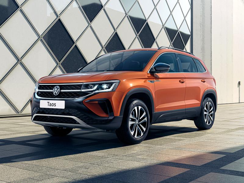 В Volkswagen раскрыли первые подробности о кроссовере Taos, для России