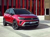 Компания Opel начала продавать в России обновленный кроссовер Crossland